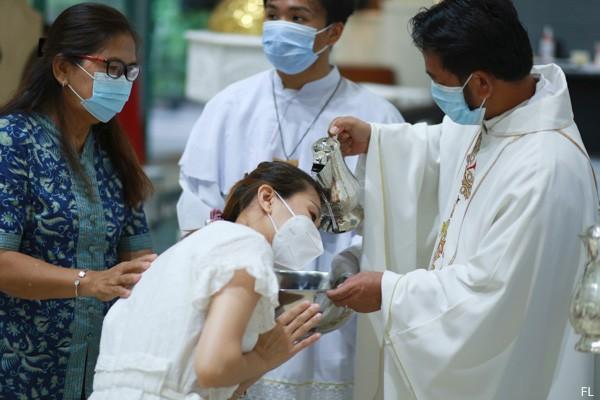 Baptis Paskah 2021